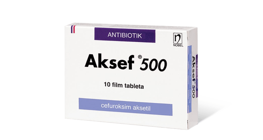 Aksef 500mg 10 Tableta