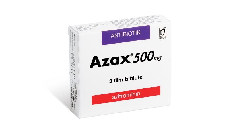 Azax 500mg 3 Film Tablete