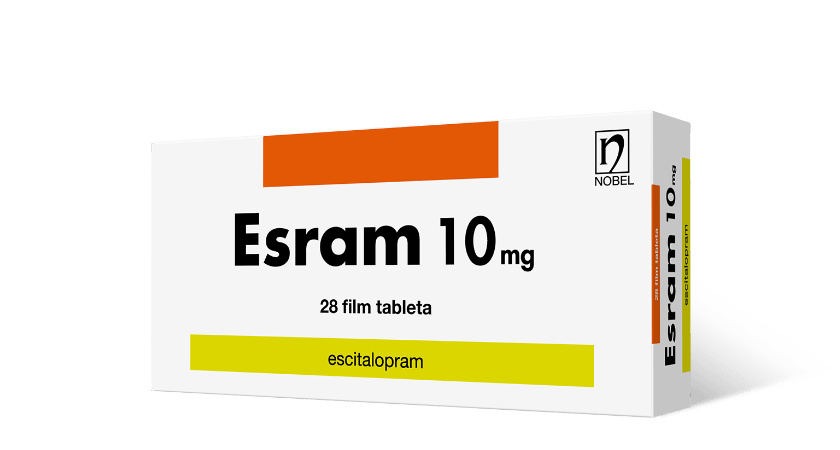 Esram 10mg 28 Film Tableta
