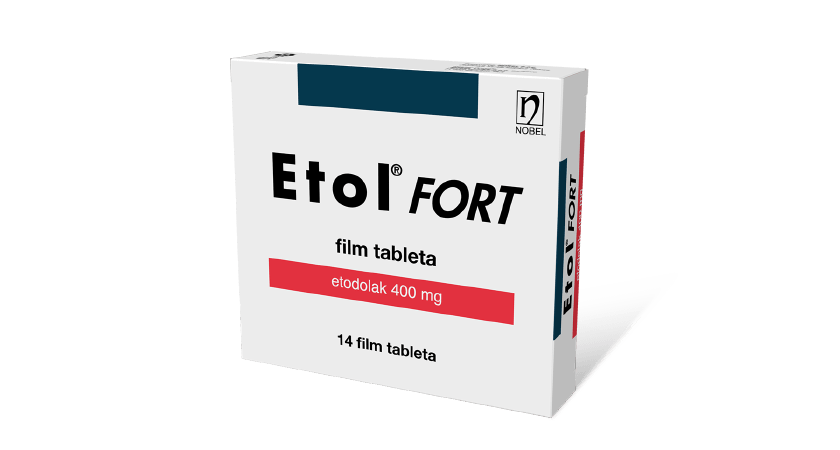Etol Fort 400mg 14 Film Tableta