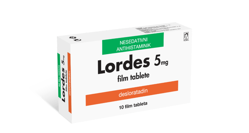 Lordes 5mg 10 Film Tableta
